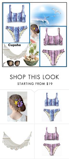 """""""Cupshe 20"""" by ruza66-c ❤ liked on Polyvore featuring NOVICA"""