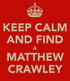 ... Matthew Crawley