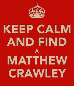 ... Matthew Crawley