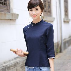 cheongsam shirt - Google Search