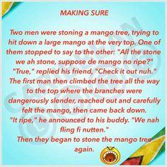 Mango tree Some Funny Jokes, Funny Memes, Hilarious, Caribbean Food, Caribbean Recipes, Saltfish Fritters, Mango Tree, Island Life, Check It Out