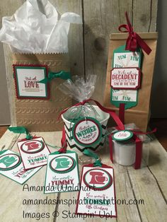 Stampin' Up! Yummy Little Christmas