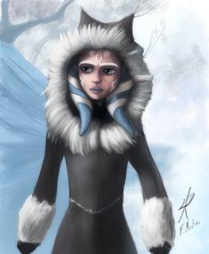 Ahsoka in winter coat by Raikoh-illust.deviantart.com on @deviantART