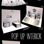Paper Pop Up Interior