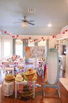 Toddler Tea Party, Girls Tea Party, Princess Tea Party, Tea Party Theme, Tea Party Birthday, Tea Party For Kids, Birthday Ideas, Baby Birthday, Toddler Party Ideas