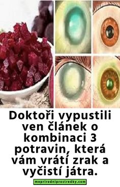 Doktoři vypustili ven článek o kombinaci 3 potravin, která vám vrátí zrak a vyčistí játra. Health And Beauty, Soda, Vegetables, Per Diem, Liquor, Drink, Soft Drink, Vegetable Recipes, Veggies