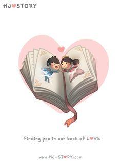 HJ-Story :: Book of Love.xche m hai detto così Hj Story, Love Is Comic, Cute Couple Cartoon, Cute Cartoon, Chibi Couple, Cute Love Stories, Love Story, What Is Love, Love You