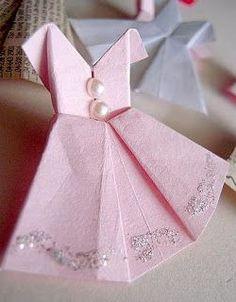 Como hacer vestiditos de papel : cosascositasycosotasconmesh