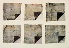 takahikohayashi:  Cloth\press and Printmixed media/painting, printing, collage林孝彦 HAYASHI Takahiko 1983