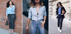 Jeanshemden gehören zum Lässigsten, was der Kleiderschrank zu bieten hat. Doch viele von uns wissen nicht so recht, wie sie ihr Jeanshemd kombinieren können...