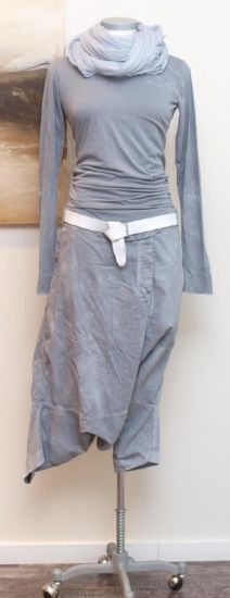 stilecht - mode für frauen mit format... - rundholz dip - Shirt langarm grey - Sommer 2013