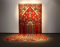 Faig Ahmed's Deconstructed Carpet Art | Trendland