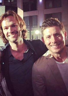Sam and Dean Winchester/Jared Padalecki and Jensen Ackles