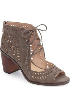 Vince Camuto 'Tarita' Cutout Lace-Up Sandal (Women) (Nordstrom Exclusive)…