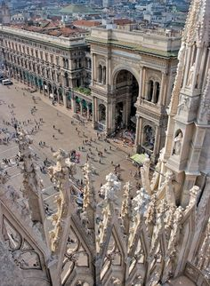 Galleria Vittorio Emanuele II, Milan - Italy, province of Milan, Lombardy