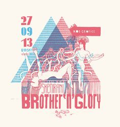 poster for dj Roentgen Brother and glory