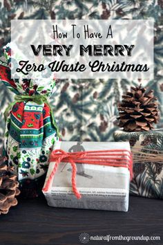 Did you know that we will create 6 million tons of holiday waste this year?? Help reduce waste and find happiness in a minimalist approach to Christmas with my tips on how to have a Zero Waste Christmas.