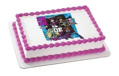 Monster High Be Yourself Edible Image *** Instant Savings available here : Baking decorations