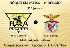 Hóquei em Patins (1.ª Divisão) HA Cambra vs SL Benfica > 8 Junho 2013 - 18h00 @ Pavilhão Municipal, Vale de Cambra #ValeDeCambra