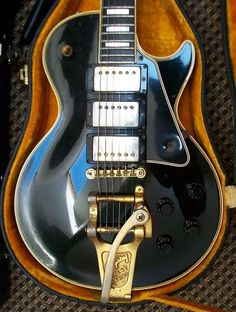 1960 Gibson Les Paul Custom Black Beauty with Bigsby