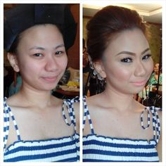 Our beautiful bride for today. Enjoy your day Clarice. Mwaaaaahhhh ;) CJ Jimenez Make Up Team: 1. Exceptional Portfolio 2. Consistent, More than A Thousand, Unsolicited and Real Time Positive Clients Feedback 3. Numerous Credentials:  Pond's Beauty Ambassador (1 of only 16 HMUAs in the Philippines) Bridal Make Up Artist of the Year- Top Brands Most Sought After Supplier / Top Booker for HMUA category- Weddings and  Debut 2013 Image Consultant - Association of Image Consultants International…