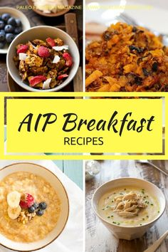 Get these 42 AIP breakfast recipes here - they're perfect for anyone on a Paleo autoimmune protocol or healing an autoimmune condition.