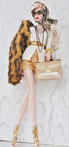 fashion royalty, fr2, dollsalive Press Conference  OOAK outfit, shoes ,bag