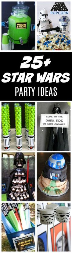 Star Wars is one of the top party themes this year and we can see why. There are so many out of this world ideas that any kid would go crazy over. Here are 27 Star Wars Theme Birthday Party Ideas to h