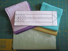Paper Pieced Arrow Quilt Block   Modern Quilt Blocks, Star Quilt Blocks, Paper Piecing Patterns, Quilt Block Patterns, Arrow Quilt, Southwestern Quilts, Missouri Star Quilt, Foundation Paper Piecing, Scrappy Quilts