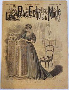 LE Petit Echo DE LA Mode N° 11 XXX° Annee Dimanche 15 Mars 1908 | eBay