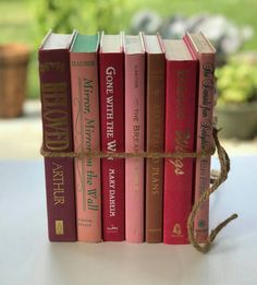 Copper antique books collection brown copper grouping of 6 old rare excited to share the latest addition to my etsy shop pink books pink junglespirit Gallery