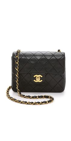 a77765931c What Goes Around Comes Around Chanel Mini Flap Bag (Previously Owned)