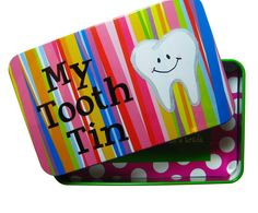 Toothy Tooth Fairy Tin (could diy with an Altoids tin)