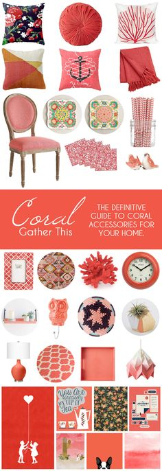 Gather This: Coral -