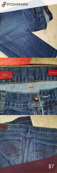 Express jeans size 10 R Eva Great condition size 10R w31 EVA full leg. express  Jeans Boot Cut