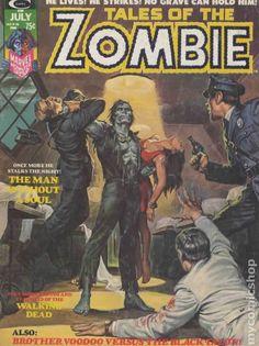 TALES OF THE ZOMBIE 6, BRONZE AGE MARVEL COMIC MAGAZINE