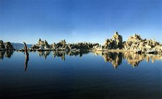 Pink Floyd artist, Storm Thorgerson art Mono Lake, California