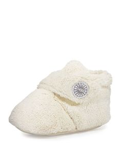 Bixbee Terry Cloth Bootie, Vanilla by UGG Australia at Neiman Marcus. Toddler Shoes, Kid Shoes, Toddler Girl, Cheap Toms Shoes, Toms Shoes Outlet, Baby Uggs, Baby Couture, Chic Baby, Nautical Fashion
