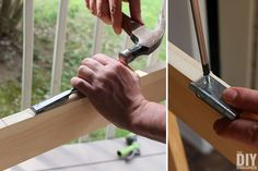 Building a screen door is a great DIY project that will add beautiful character to your home. Learn how to build a screen door with this tutorial. Front Door With Screen, Wood Screen Door, Mesh Screen, Wooden Screen, Diy Sliding Barn Door, Diy Door, Screened Porch Doors, Front Porches, Custom Screen Doors