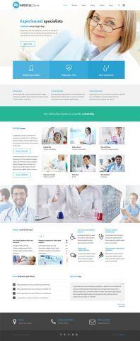 PE Services - clinic company version #WordPress #Theme