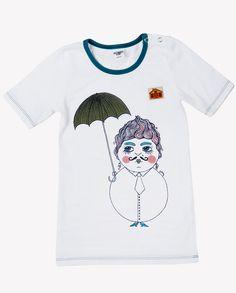 T-Shirt August-Marie (Modeerska Huset) - www. Baby Kids Wear, My Little Girl, Mens Tops, How To Wear, T Shirt, Fashion, Supreme T Shirt, Moda, Tee Shirt
