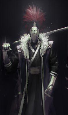 ArtStation - Robot Samurai, Jeff Chen