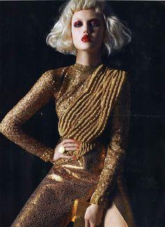Lindsey Wixson for Vogue Italia April 2011 by Steven Meisel