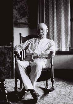 Wyatt Earp on his 75th birthday