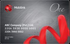 Mobilink Offering 1 Smart Card for Postpaid Subscribers