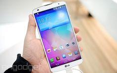 LG G Pro 2 32GB 版本復活節後開賣,僅貴三百,定價 HK$5,998