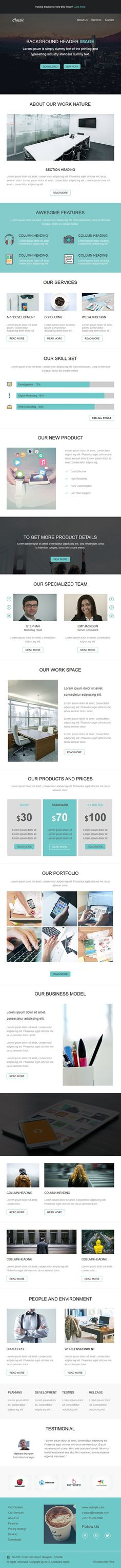 14 email newsletter templates bundle newsletter templates email