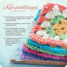 Kortti; Kärsivällisyys | Anna-Mari West Photography Finnish Words, Crochet Hats, Messages, Thoughts, Blanket, Feelings, Cards, Quotes, Knitting Hats