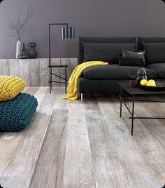 Brown Black Timber Floorboards