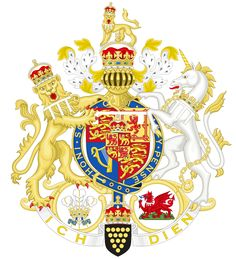 Coat of Arms of Charles, Prince of Wales